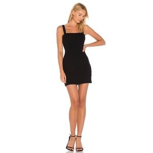Privacy Please Bradian Mini Dress Black Size S NWT